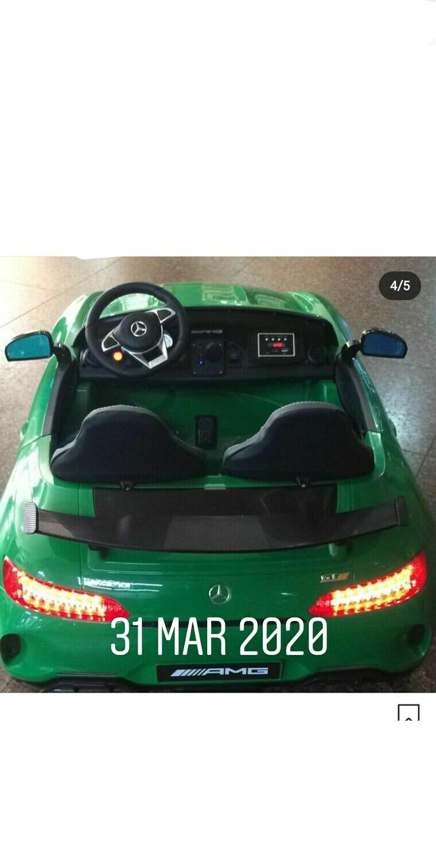AUTO MACCHINA ELETTRICA Mercedes Benz Gtr 2 POSTI 24v PRODOTTO LICENZIATO