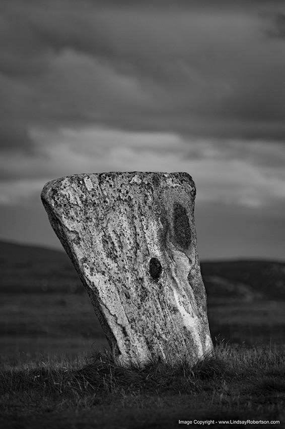 Callanish Standing Stones, Stone ll - Isle of Lewis