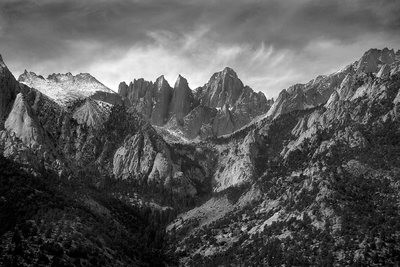 Mount Whitney Wilderness, Sierra Nevada - California
