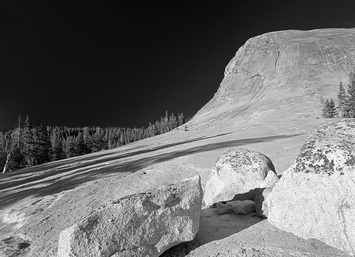 Yosemite Rocks, Lake Tenaya - California