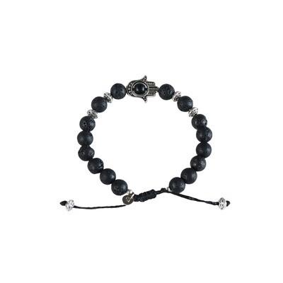 Obsidian Prosperity Diffuser Bracelet