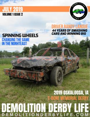 Demolition Derby Life Magazine Season Pass