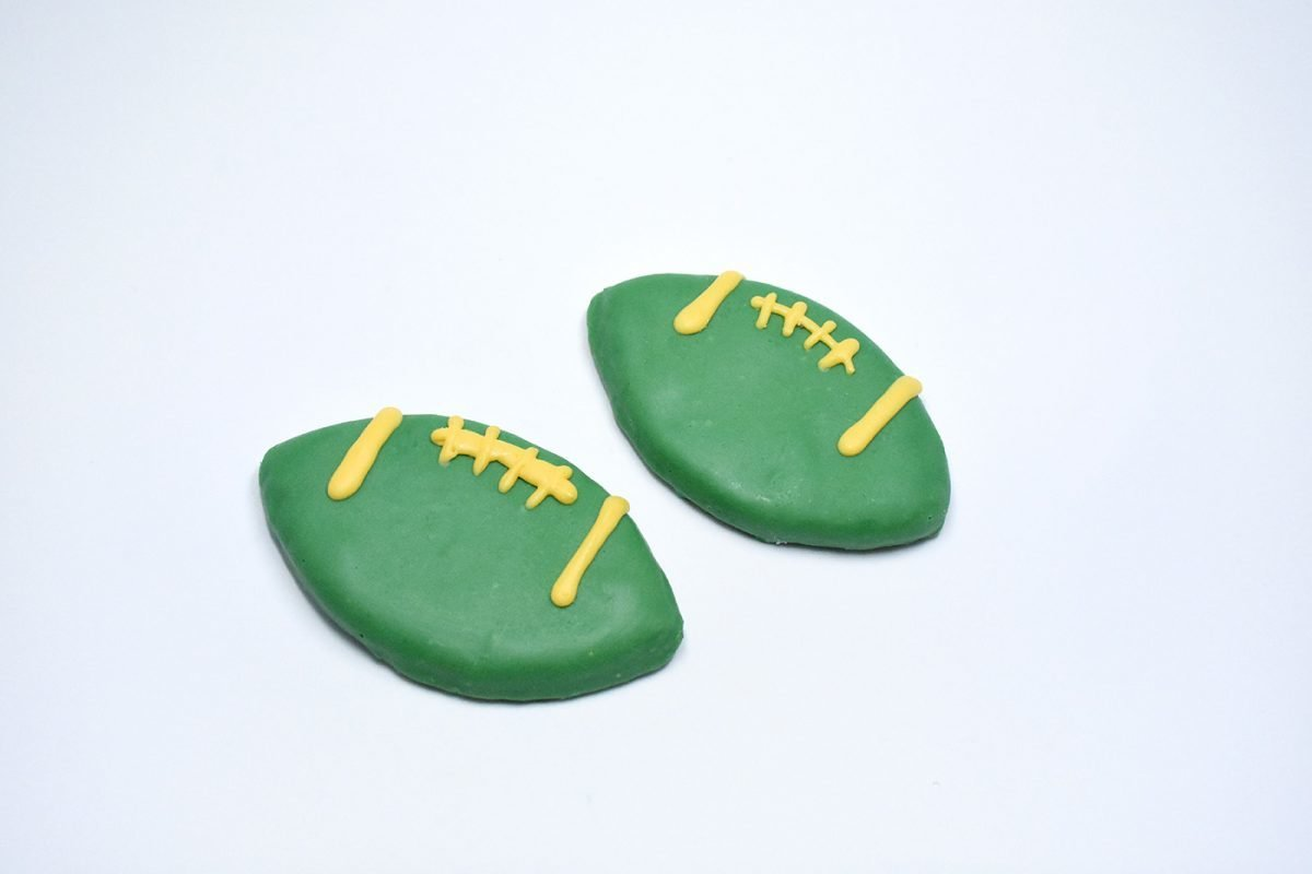 Footballs - Green / Gold