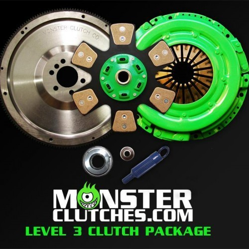 MONSTER SINGLE DISC 700HP CLUTCH SYSTEM