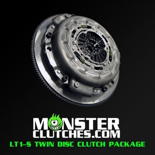 LT1-SC TWIN DISC GEN-5 Z28 PACKAGE - RATED AT 1000 RWHP/RWTQ