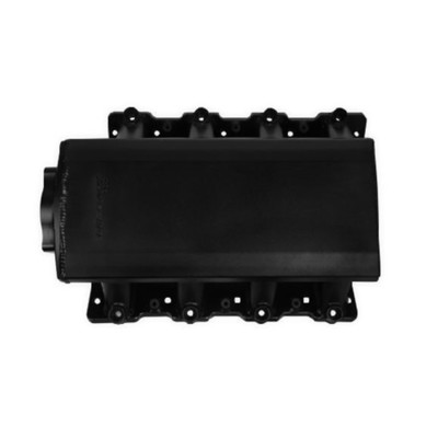Chevrolet Corvette Holley Low Profile Black Sniper EFI Sheet Metal Fabricated Intake Manifold,