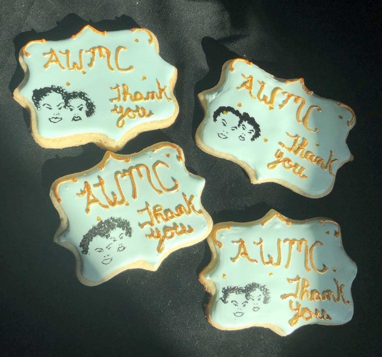 Plaques Royal Icing Sugar Cookies 1 dozen