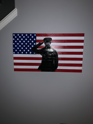 US Soldier Flag