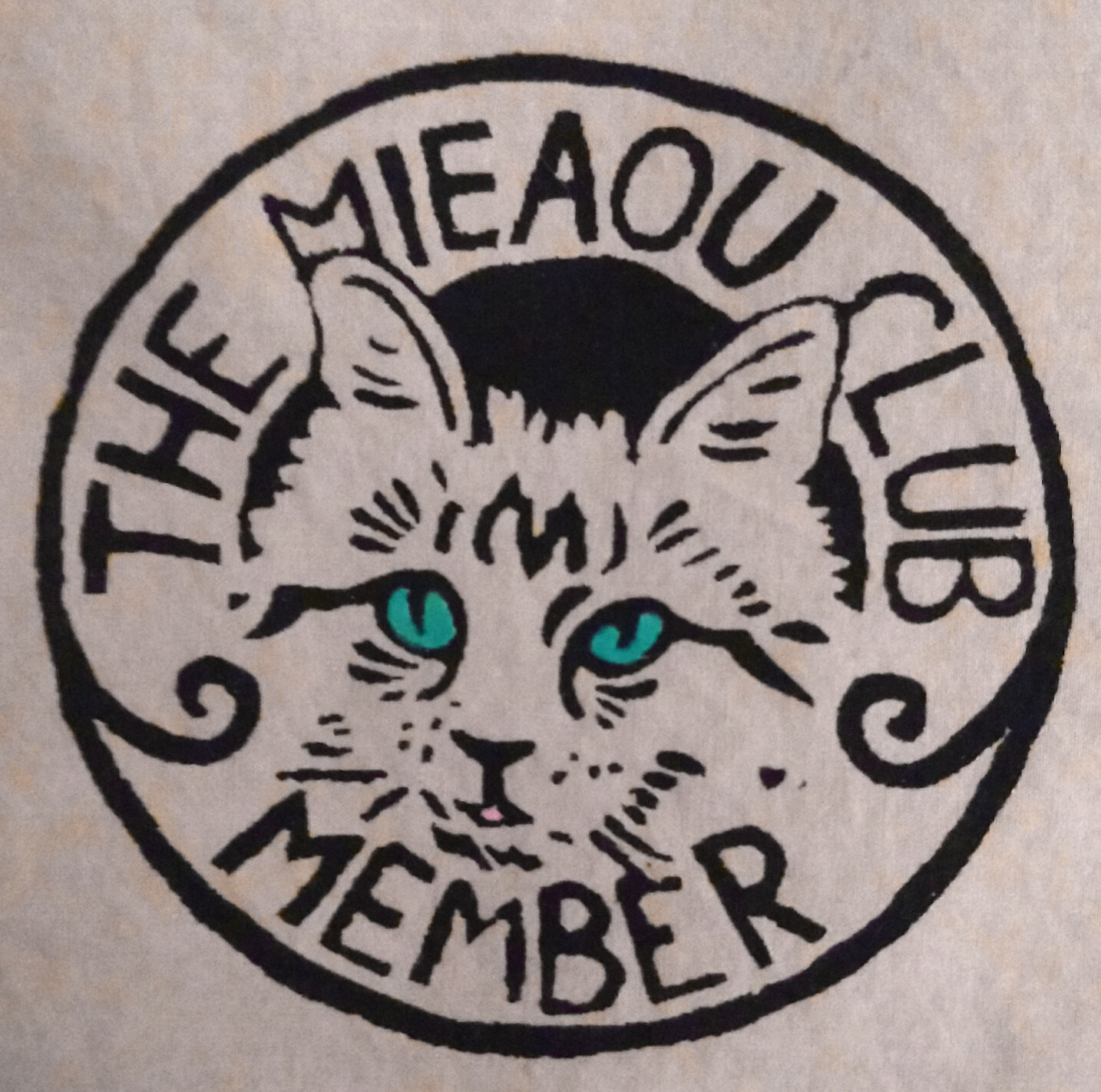 Mieaou Club Patch (aka Meow Club)