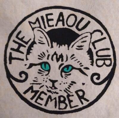 Mieaou Club Patch (aka Meow Club)