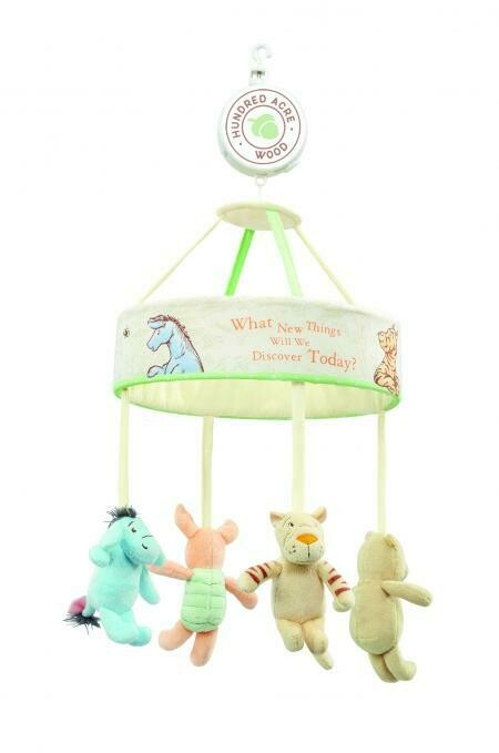 Hundred Acre Wood Winnie the Pooh Cot Mobile