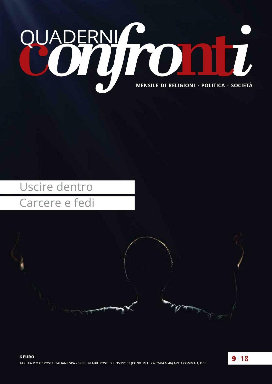 Uscire dentro – Carcere e fedi (PDF)