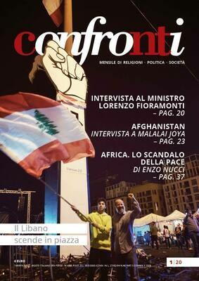 Confronti gennaio 2020 - Il Libano scende in piazza (Cartaceo)