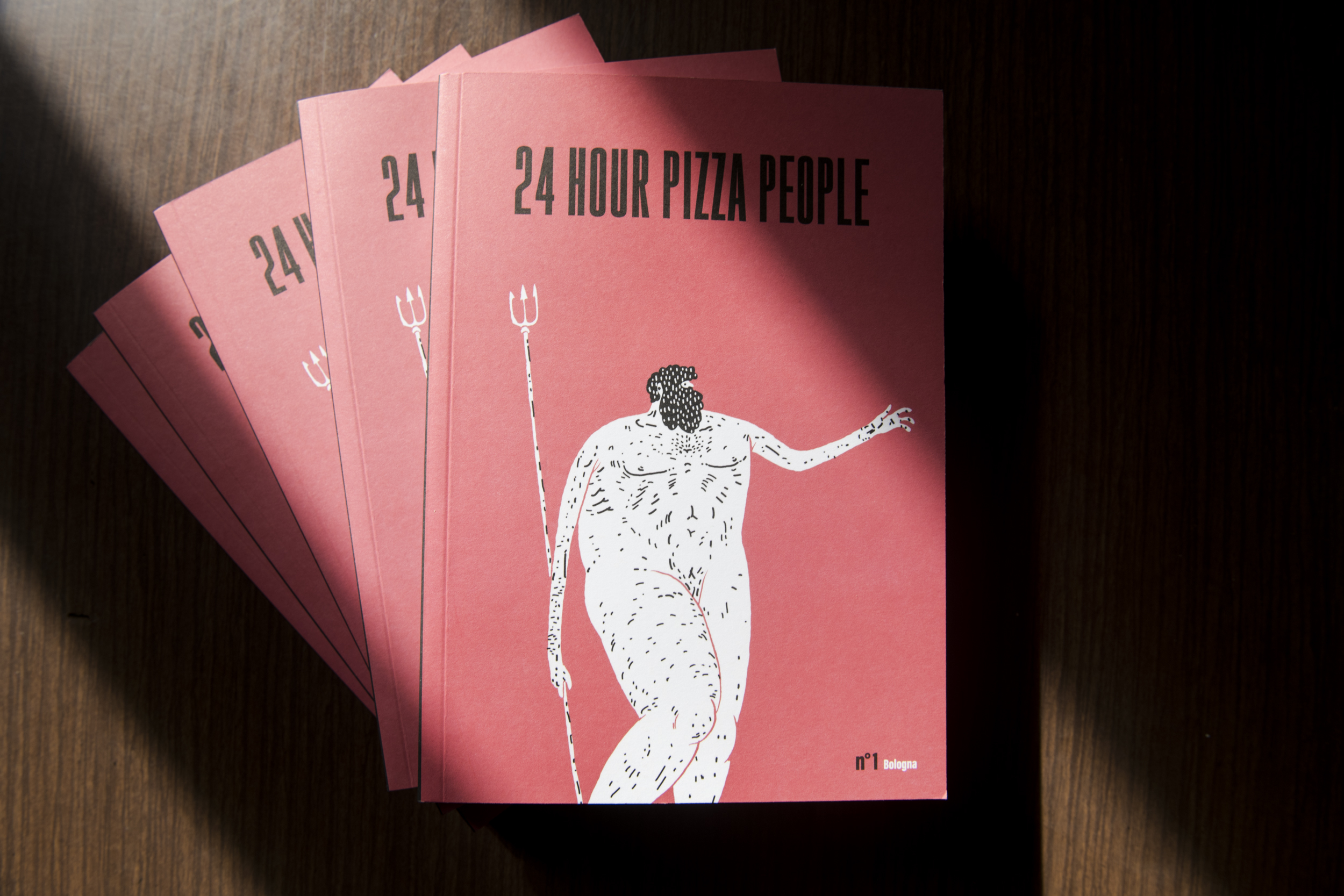 24 HOUR PIZZA PEOPLE - MAGAZINE - BOLOGNA 00001