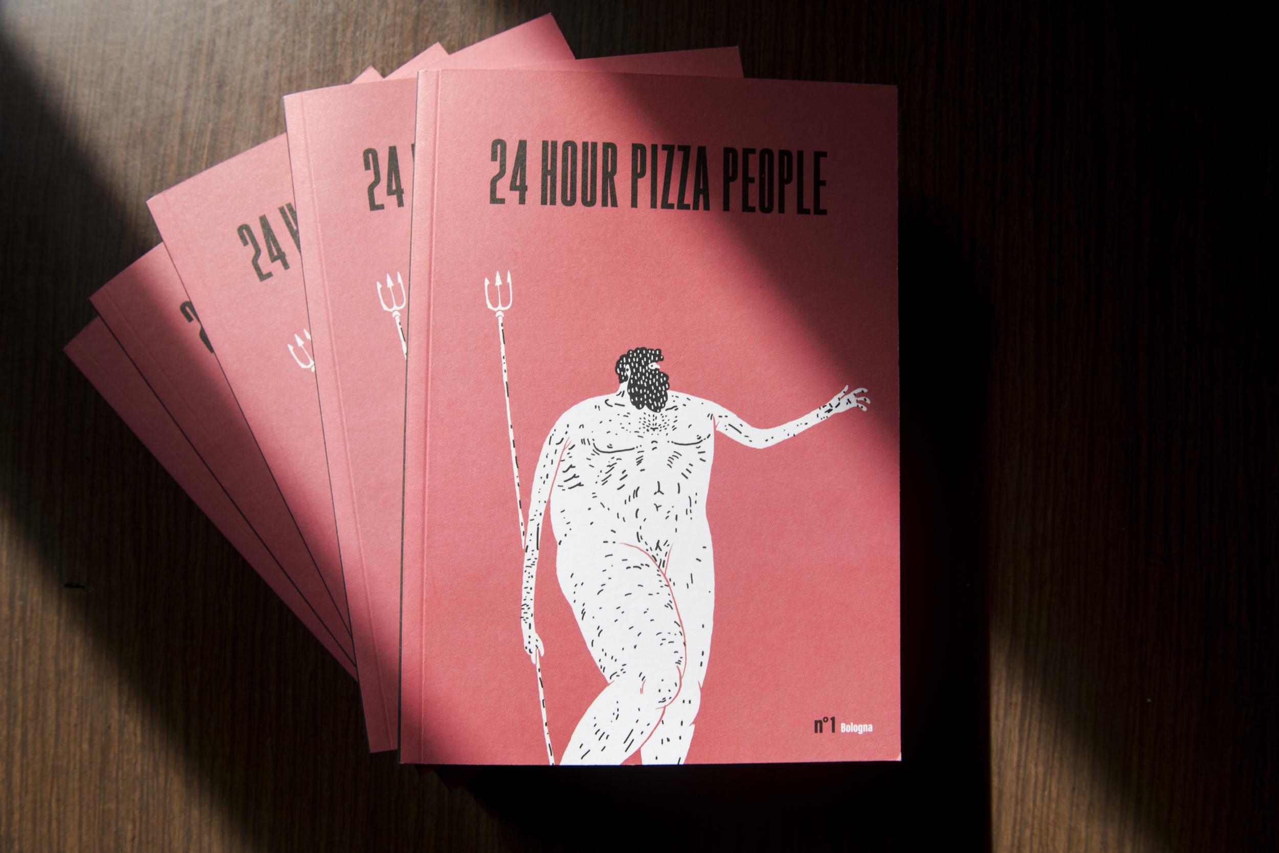 24 HOUR PIZZA PEOPLE - MAGAZINE 00001