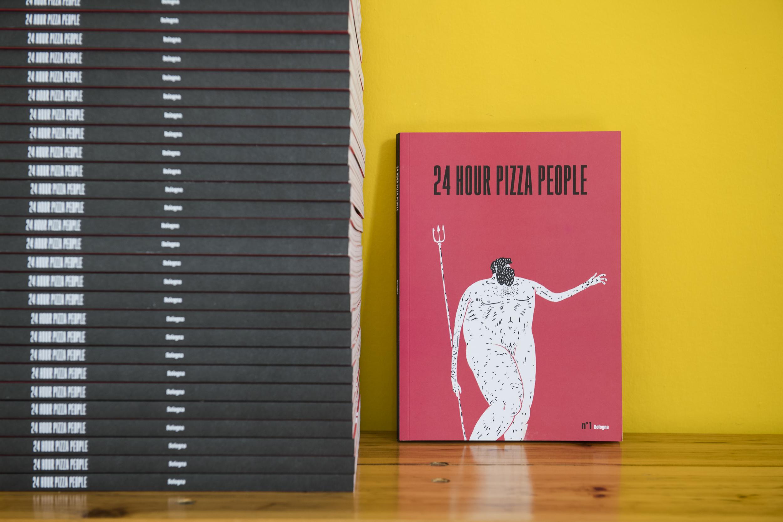 24 HOUR PIZZA PEOPLE - MAGAZINE
