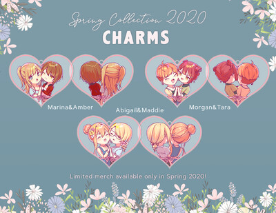 [Spring Collection] Couples Keychains (PRE-ORDER)
