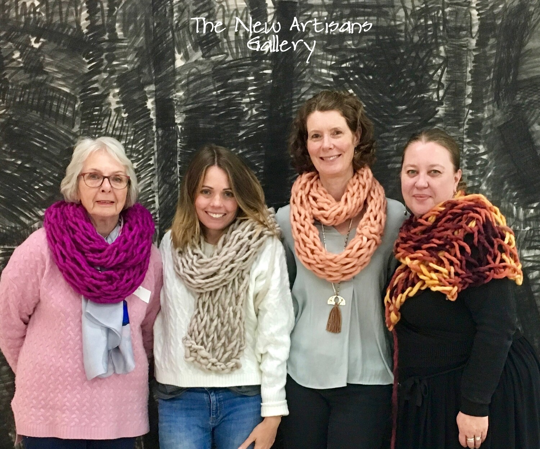Art of Arm Knitting Workshop Sat 15 June 19 | Milsons Point, Sydney - The New Artisans Gallery