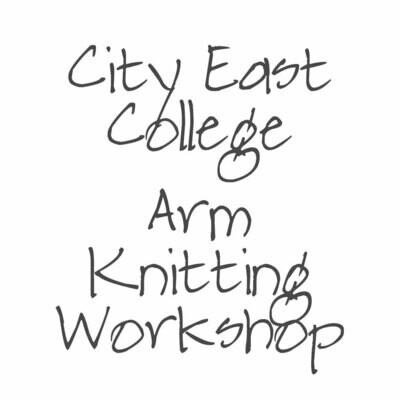 Art of Arm Knitting Workshop Tuesday 3 September 19 | Sydney, Bondi Junction - East City College