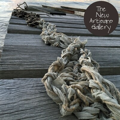 Art of Arm Knitting Workshop - Spring Linen and Fabric  Scarf  Thurs 19 Sept | Milson's Point, The New Artisans Gallery