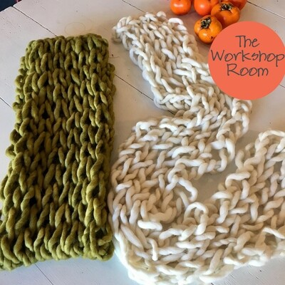 Art of Arm Knitting Workshop Sat 31 August | Southern Highlands, Robertson - The Workshop Room at The Shac