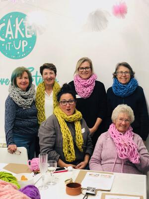 Art of Arm Knitting Workshop 22 August | Jannali, Sutherland Shire - Cake It Up