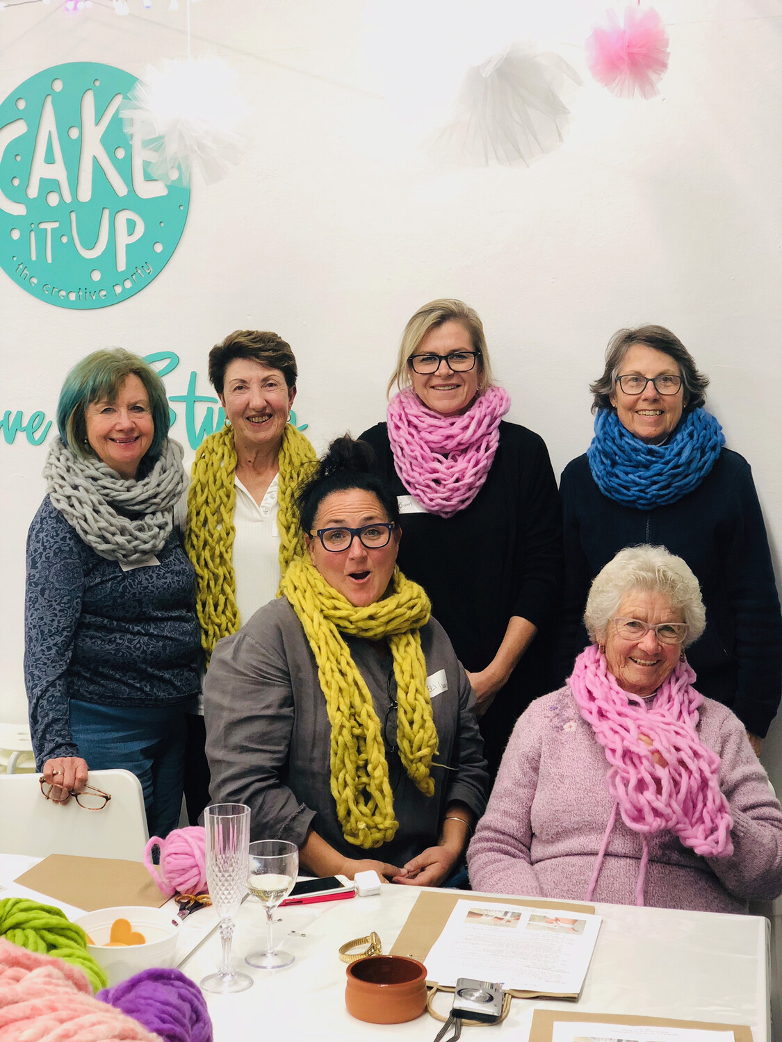 Art of Arm Knitting Workshop 22 August 19 | Jannali, Sutherland Shire - Cake It Up