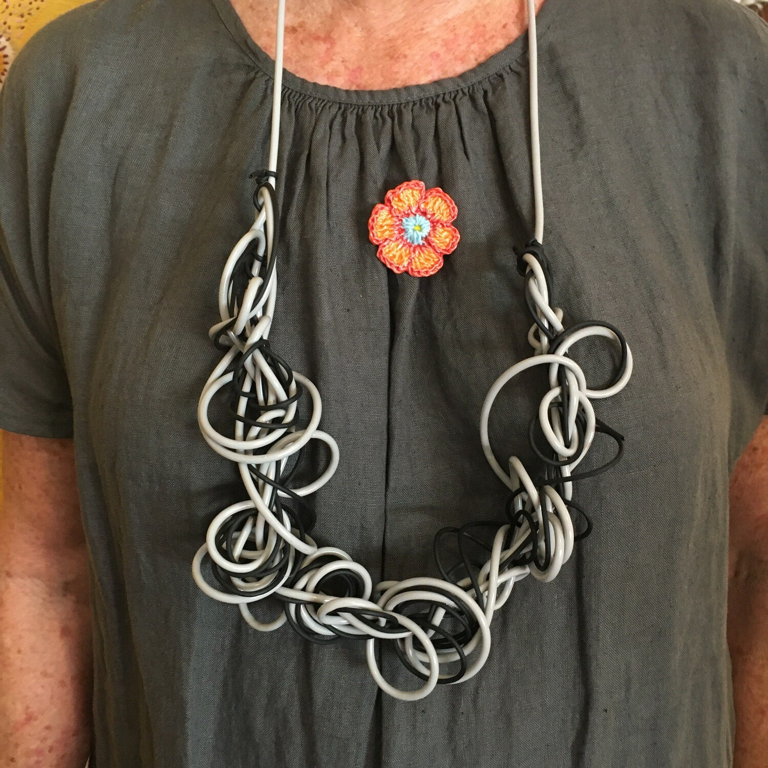 Squiggle Collection   Necklace   Long