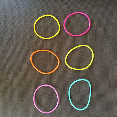 Necklace | CIRCLES | Custom Colours | Silicone