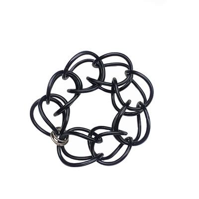 *Best Seller* | Bracelet | Weave | Black | Hand Woven | Silicone |
