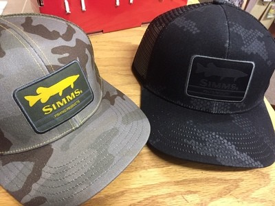 Simms Musky Patch Trucker Hat