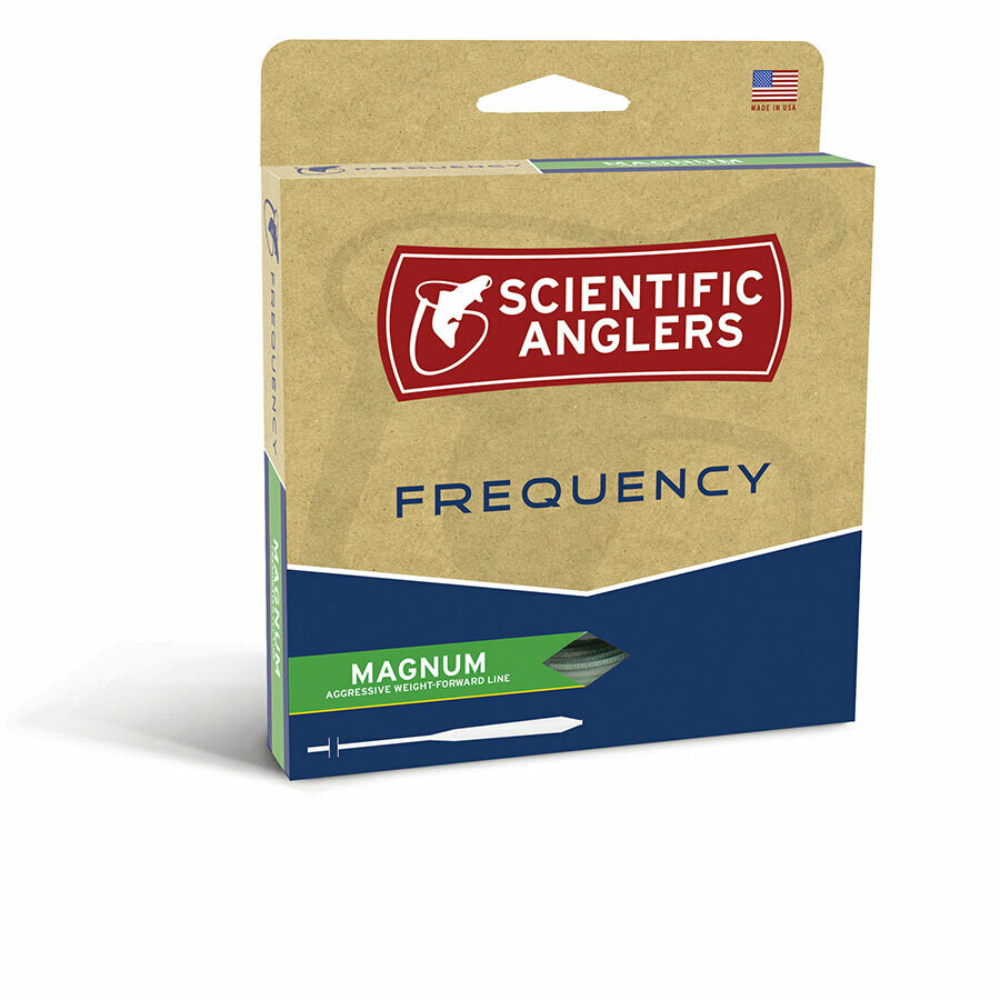 FREQUENCY MAGNUM GLOW FLY FISHING LINE