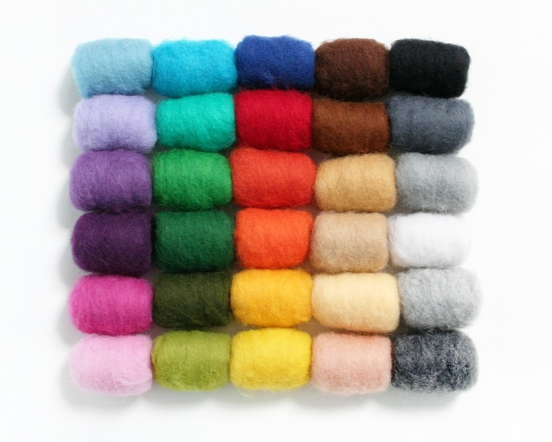 Wool Batts 100g