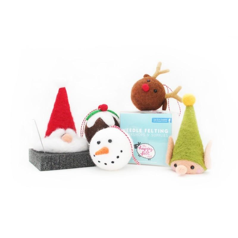 Christmas Needle Felting Kit