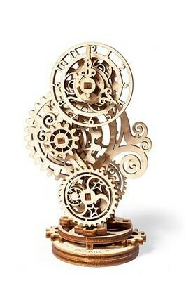 ხის მექანიკური მოდელი საათი