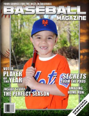 MC- 8 x 10 Magazine Cover print MC-