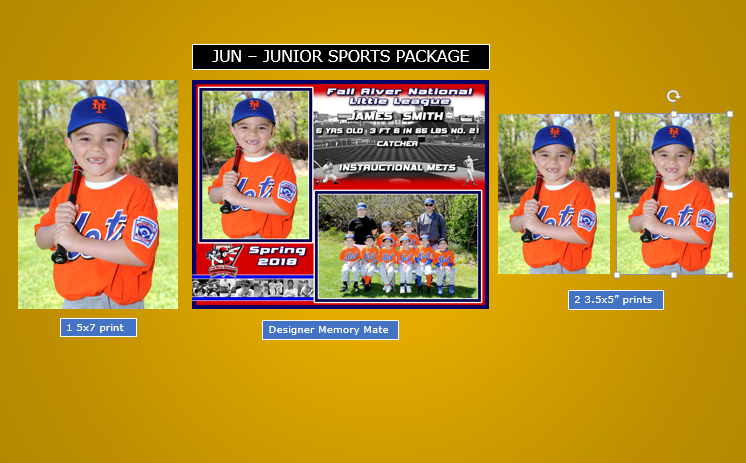 JR- The Junior Sports Package JR-