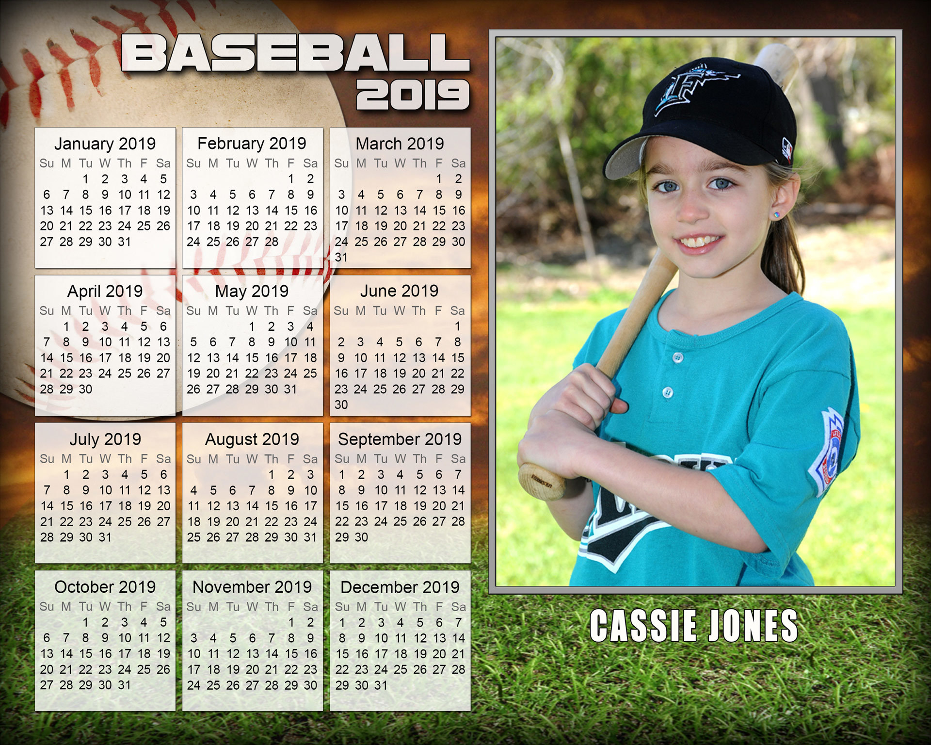 CAL - Photo Calendar CAL-
