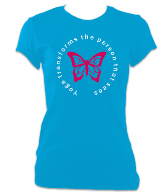 Yoga Transforms T-Shirt (Women's) - free shipping!