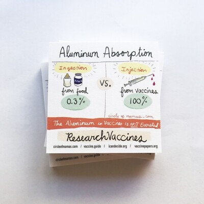 Sticky Notes - Aluminum Absorption - (50 sheets)