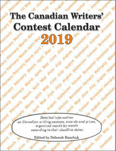 Canadian Writers' Contest Calendar 2019