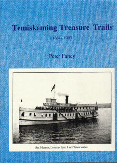 Temiskaming Treasure Trails Vol 2 1886-1903