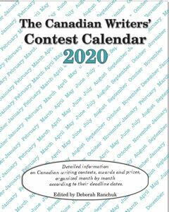 Canadian Writers' Contest Calendar 2020