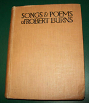 Songs & Poems of Robert Burns (1912)