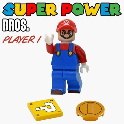 SUPER POWER BROS. Player 1