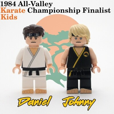 1984 All-Valley Karate Championship Finalist Kids