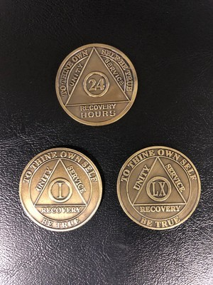 Bronze Medallions - From 24 hours, months and years 1-60