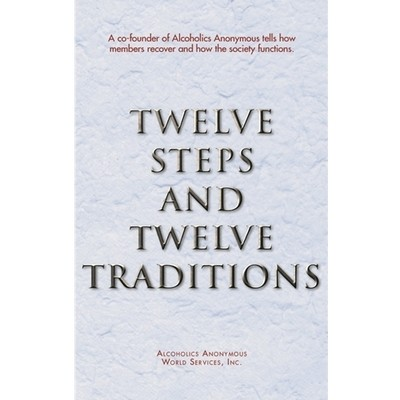 Twelve Steps and Twelve Traditions hard back - 1 case (20 books)