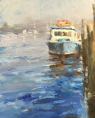 "Trish Beckham, ""Along the Waterfront"" 00311"