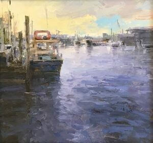 "Trish Beckham , ""Gulf Coast Boat"" 00384"